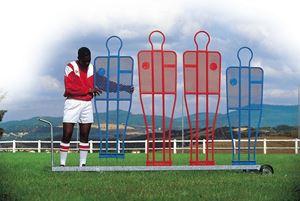 Image de Chariot pour Mannequins seul pour Barret Pro Foot