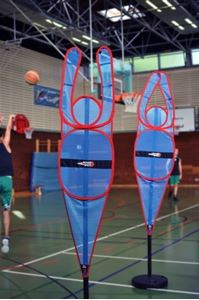 """Afbeelding van Mannequin Basket """"Wall"""" D-Man"""