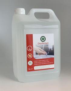 Afbeelding van Hand- en huiddesinfectiemiddel klaar voor gebruik 5 L