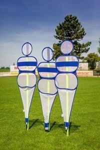 Image de SOCCER WALL - MANNEQUIN DÉFENSIF couleur Bleu