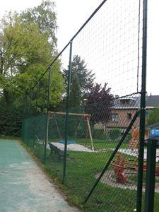 Afbeelding van  Frame voor ballenvangers + grille