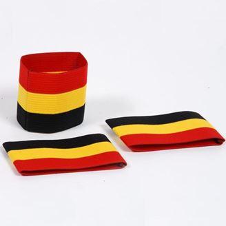 Image sur Brassard Tricolor Belge: noir/jaune/rouge
