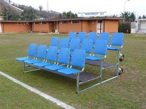 Afbeelding van  Verplaatsbare tribune met stoelen