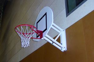 Picture of But de basket mural à hauteur réglable 120x90cm