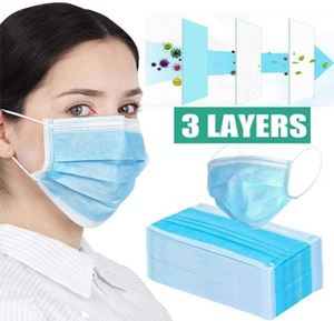 Picture of Masque chirurgical 3 plis 50 pcs Type II R - Masque jetable