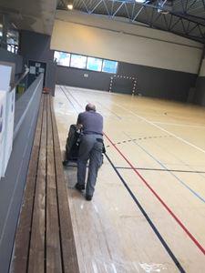 Picture of L'entretien des sols sportifs