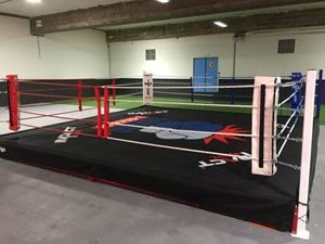 Picture of Ring de Boxe Club entrainement 30cm hauteur 6x6m